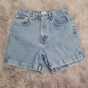 "Vintage Calvin Klein ""mom"" jeans shorts"